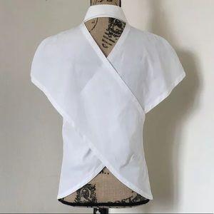Alexander wang Criss Cross Button down shirt